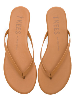TKEES foundations matte flip flop