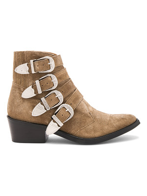 TOGA PULLA Western Buckle Bootie