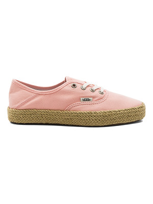 VANS Authentic Espadrille