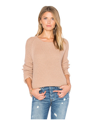 VINCE Waffle Stitch Pullover