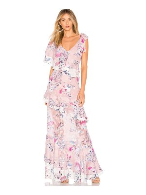 We Are Kindred Alessandra Ruffle Maxi