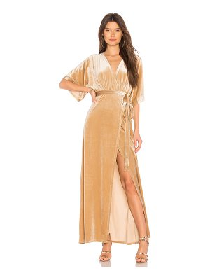 WYLDR Dreamer Velvet Maxi Dress