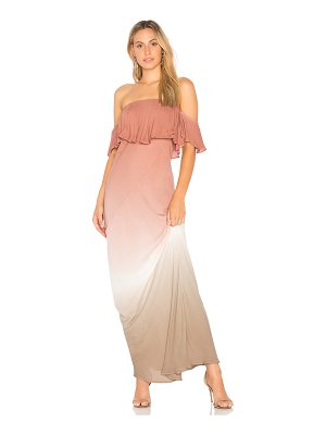 YOUNG FABULOUS & BROKE Nell Maxi Dress
