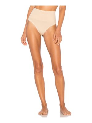 Yummie by Heather Thomson Seamlessly Shaped Ultralight Nylon Thong