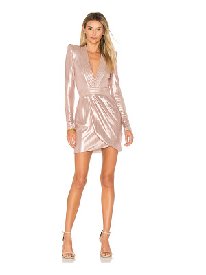 Zhivago Eye Of Horus Metallic Mini Dress