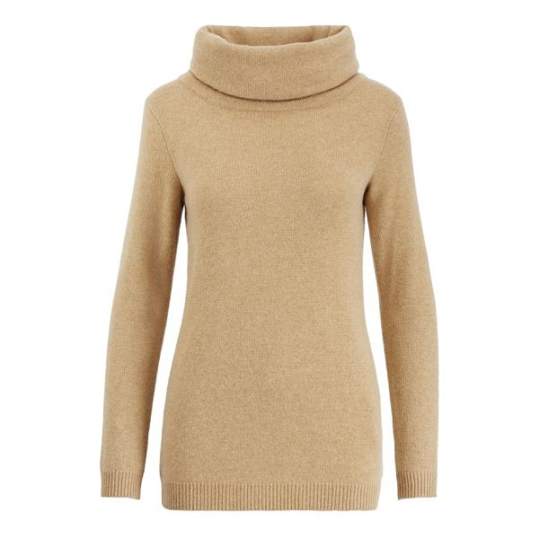"""RALPH LAUREN cashmere turtleneck sweater - Slim fit. Intended to hit at the hip. Size medium has a 27""""..."""