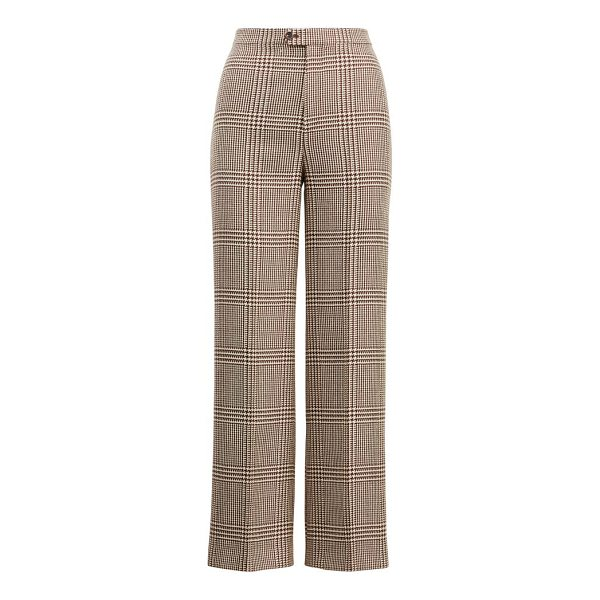 RALPH LAUREN connor wool straight pant - High rise. Straight fit. Intended to hit at the ankle. Size...