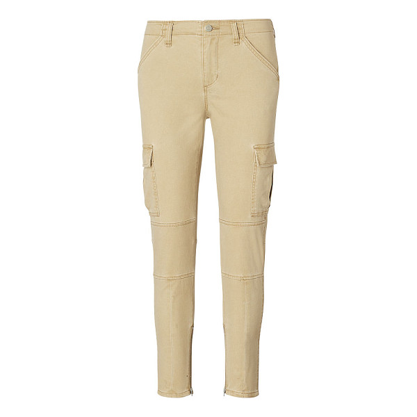 RALPH LAUREN denim & supply twill skinny cargo pant - Cargo pockets put a utility-chic spin on these weathered...