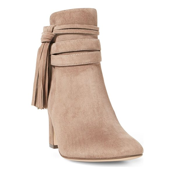 RALPH LAUREN lauren belcia fringe suede boot - Add a dose of boho-chic style to your work or weekend-ready...