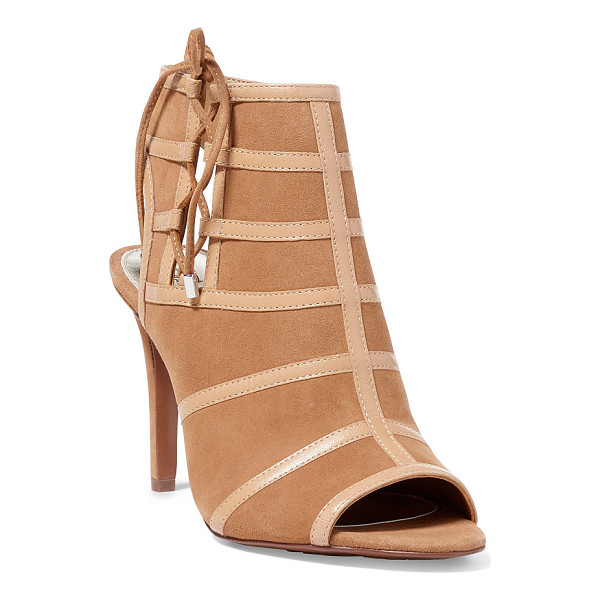 RALPH LAUREN lauren mimi leather lace-up sandal - The versatile Mimi merges the modern ease of a bootie with...