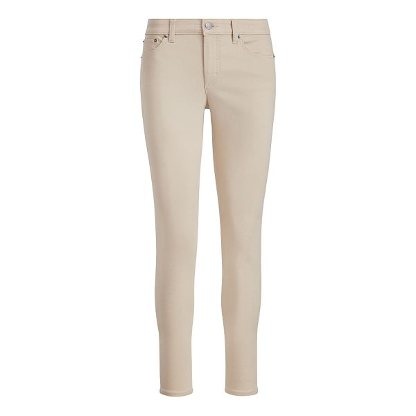 RALPH LAUREN lauren premier skinny ankle jean - Part of our superstretch collection, these Premier jeans'...