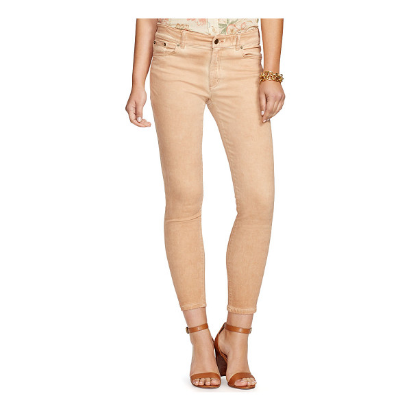 RALPH LAUREN lauren premier skinny jean - Designed with slimming panels that lift and sculpt, this...