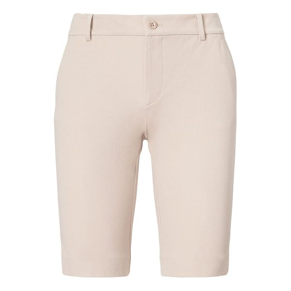 RALPH LAUREN lauren stretch cotton short - Crisp yet casual, these twill shorts are a chic choice for...