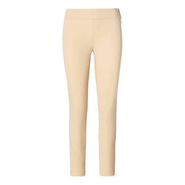 RALPH LAUREN lauren stretch twill skinny pant - Merging the slim fit and comfort of leggings with the...
