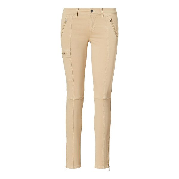 RALPH LAUREN lauren twill skinny cargo pant - A modern take on the cargo pant, this stretch cotton...