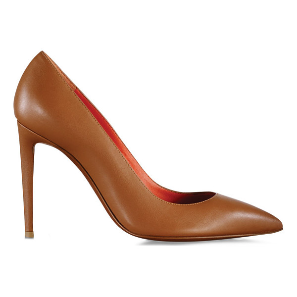 RALPH LAUREN celia nappa leather pump - From its sculpted topline to its leather lining, every...