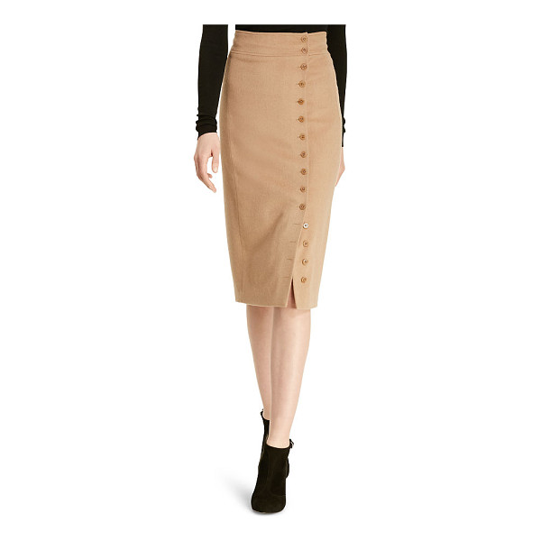 RALPH LAUREN polo - In quintessential Polo style, this luxe skirt's classic...