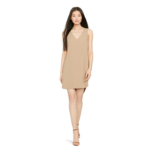 RALPH LAUREN polo  silk-trim sleeveless dress - In fluid cady with an effortlessly chic drape, this...