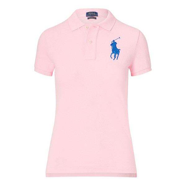 RALPH LAUREN polo  skinny fit big pony polo shirt - Introduced in 1972, our Polo shirt now comes in a variety...