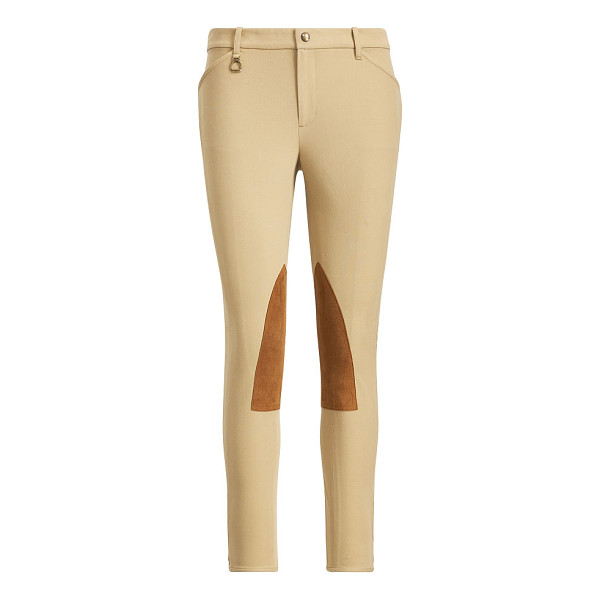 RALPH LAUREN polo  skinny stretch twill pant - Equestrian style is a constant source of inspiration for...