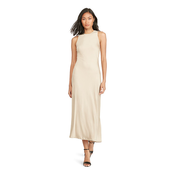 RALPH LAUREN polo  keyhole-back midi dress - Simple and streamlined, this jersey dress is cut on the...
