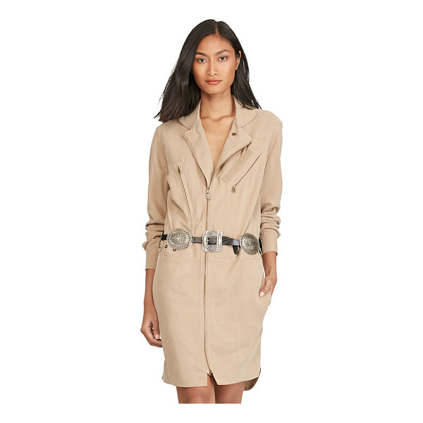 RALPH LAUREN polo  utility dress - With an asymmetrical zip front and a plethora of pockets,...