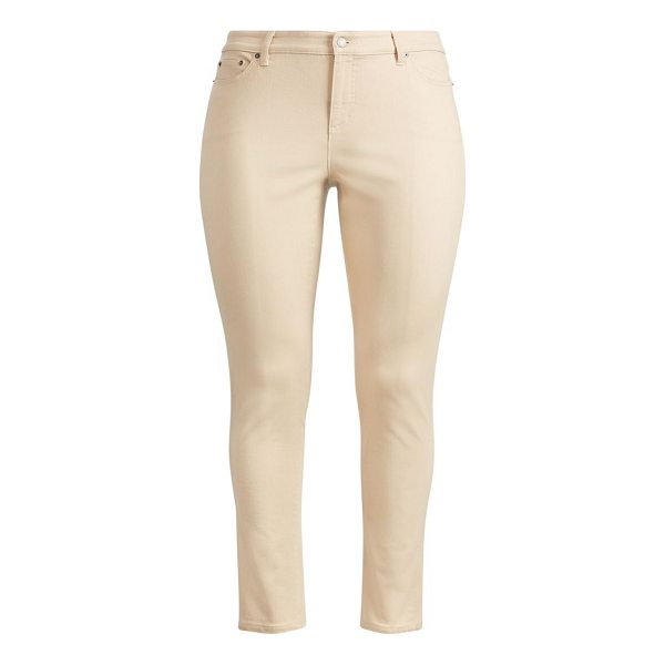 RALPH LAUREN premier skinny ankle jean - Premier Skinny Ankle: high rise. Sits at the natural waist....