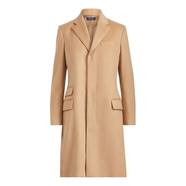 RALPH LAUREN wool-blend chesterfield coat - Straight slightly slim fit. Intended to hit at the knee. US...