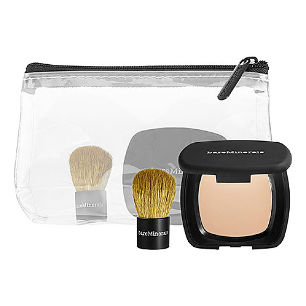 BAREMINERALS ® touch up to-go duo - A touch-up duo for flawless skin on the go. This is your...