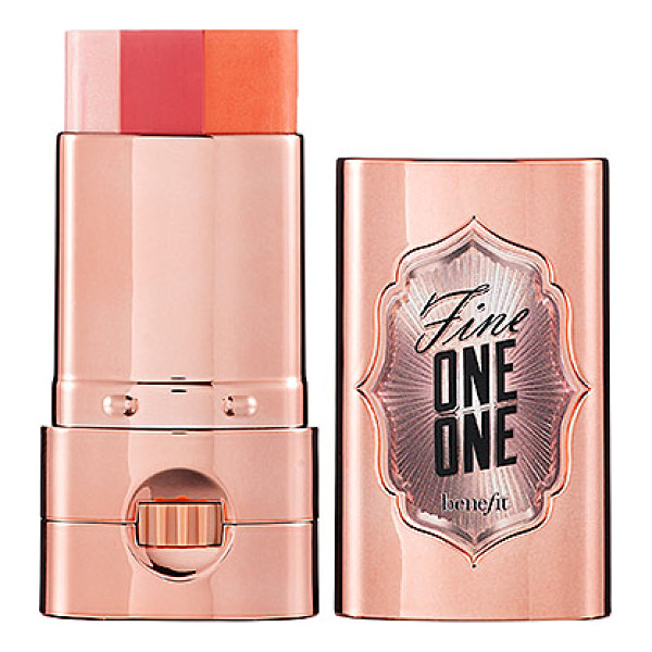 BENEFIT COSMETICS fine one one - A sheer, brightening cheek-and-lip color for instant lift,...