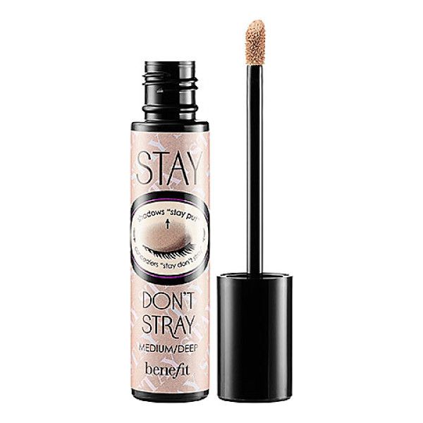 BENEFIT COSMETICS stay dont stray 360 degree stay put eyeshadow primer medium/ deep - A primer for concealers and eye shadows. This dual-action...