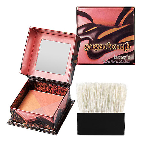 "BENEFIT COSMETICS sugarbomb box o powder blush sugarbomb - A ""sugar rush flush"" facial powder. Gimme some sugar-with..."