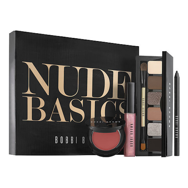 BOBBI BROWN nude basics - A limited-edition set of four versatile beauty basics with...