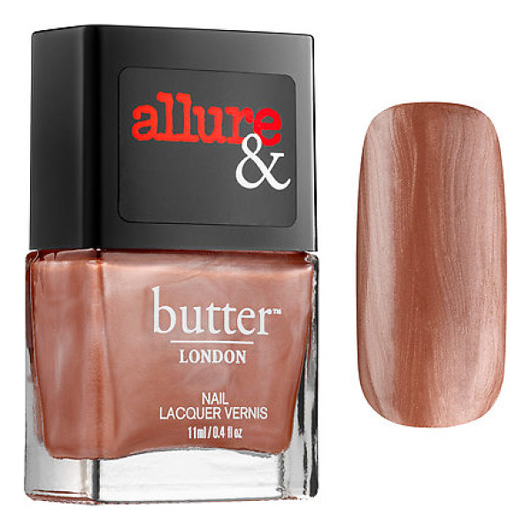 BUTTER LONDON allure &  introduce the arm candy nail lacquer collection im on the list 0.4 oz/ 11 ml - A nail polish collaboration between Allure and butter...