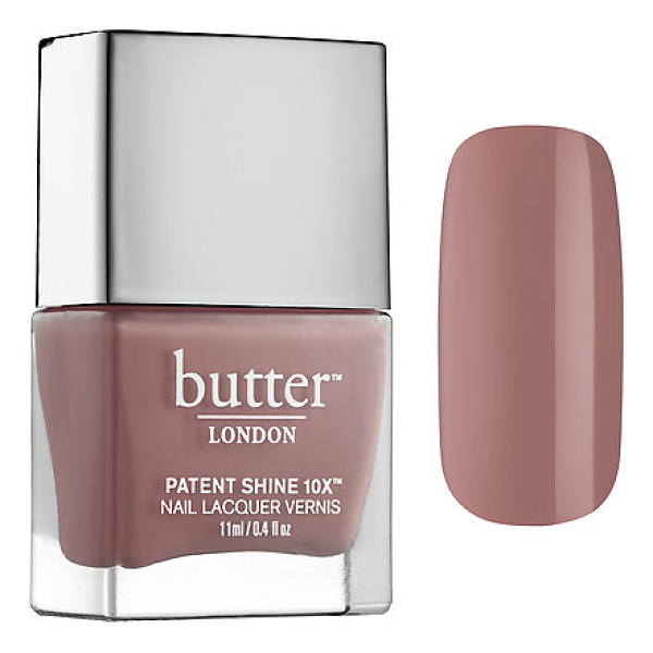 BUTTER LONDON patent shine 10x™ nail lacquer mums the world 0.4 oz/ 11 ml - An innovative, long-wearing, high-shine nail polish in...