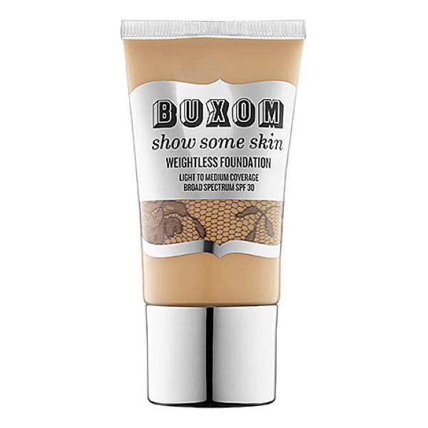 BUXOM show some skin weightless foundation youre a natural - A featherweight foundation that combines the benefits of BB...