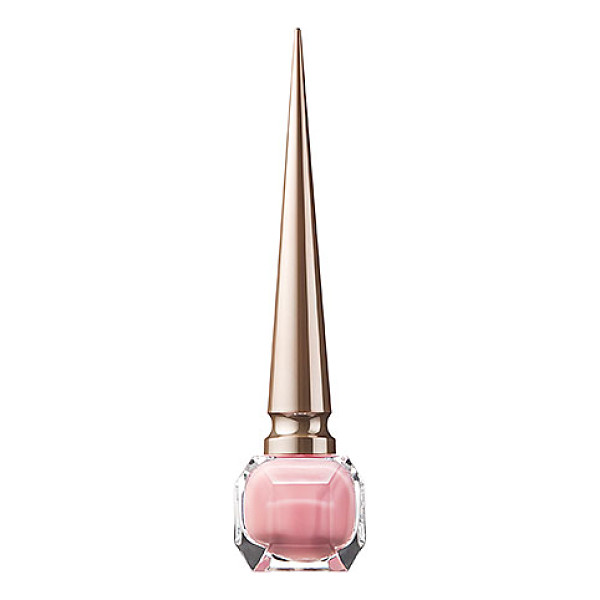 CHRISTIAN LOUBOUTIN nail colour - the nudes tres decollete - A long-wearing, provocative nail lacquer that imparts luxe,...