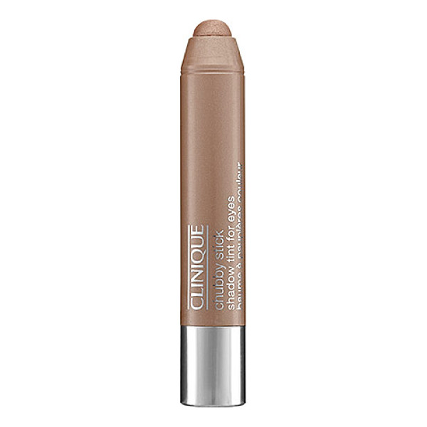 CLINIQUE chubby stick shadow tint for eyes lots o latte 0.1 oz/ 3 g - A superwearable, sheer, creamy color for stunning eyes....