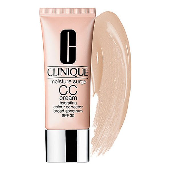 CLINIQUE moisture surge cc cream hydrating colour corrector broad spectrum spf 30 natural - An oil-free, color-correcting, perfecting formula to create...
