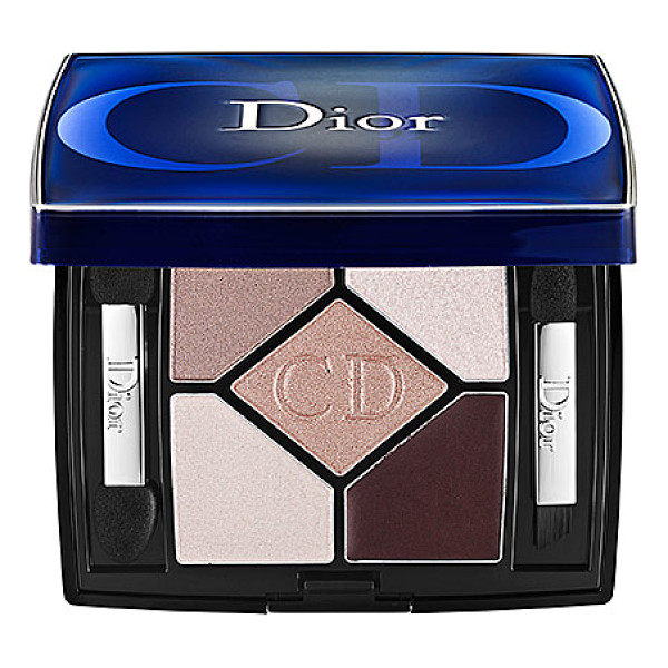 DIOR 5-colour designer all-in-one artistry palette nude pink design - A sleek compact containing five shades that will create the...