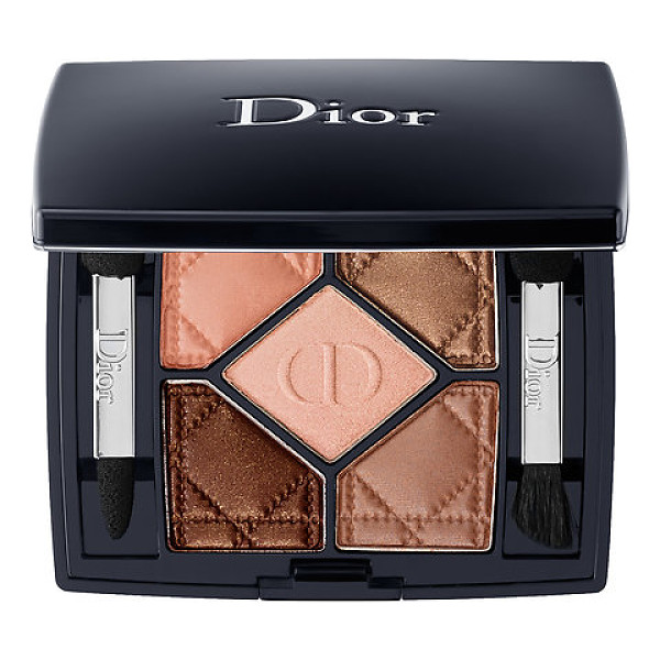 DIOR 5-colour eyeshadow amber nuit 746 0.21 oz/ 6 g - A five-color eye shadow palette to add a splash of color to...