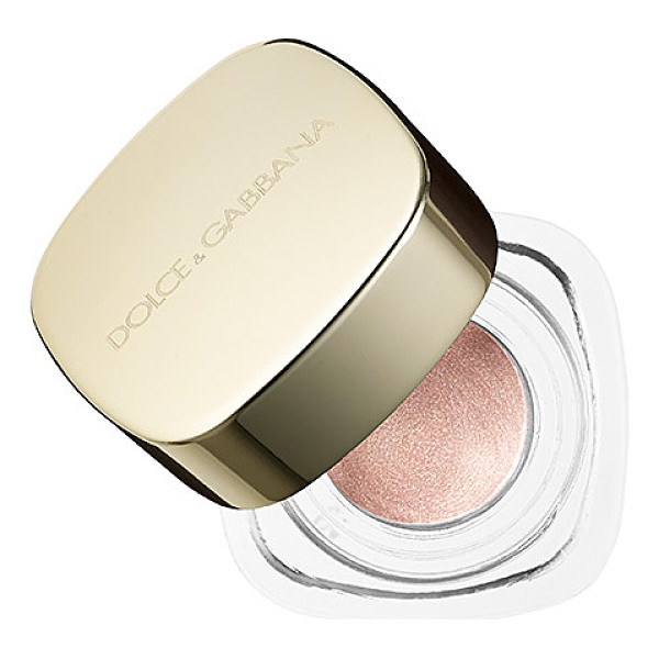 DOLCE & GABBANA perfect mono cream eye colour gold dust - A collection of high-density, ultra-soft eye shadows in...