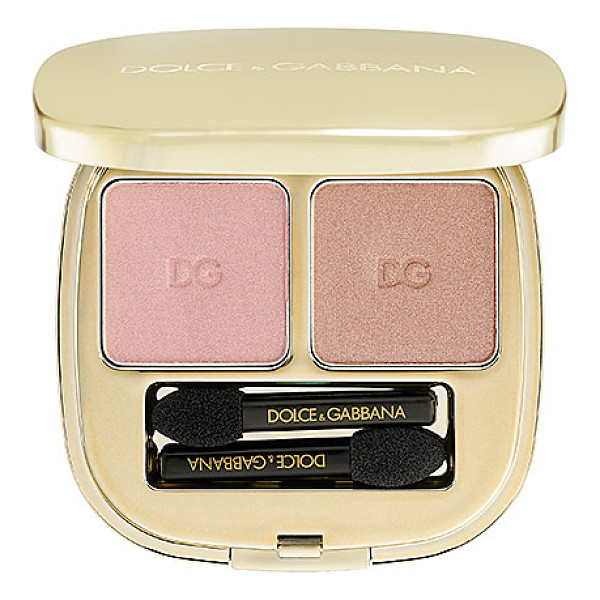 DOLCE & GABBANA the eyeshadow smooth eye colour duo cinnamon 80 - An eye shadow duo formulated with impactful pigments for...