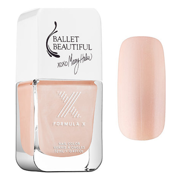 FORMULA X #colorcurators: ballet beautiful edition - nail polish collection satin slippers - A limited-edition collection of Formula X nail polish...