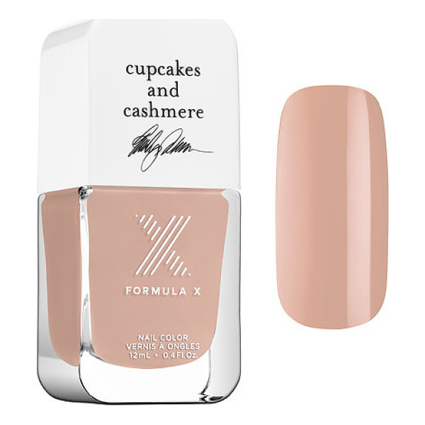 FORMULA X #colorcurators: cupcakes and cashmere edition - nail polish latte run - A limited-edition collection of Formula X nail polish...
