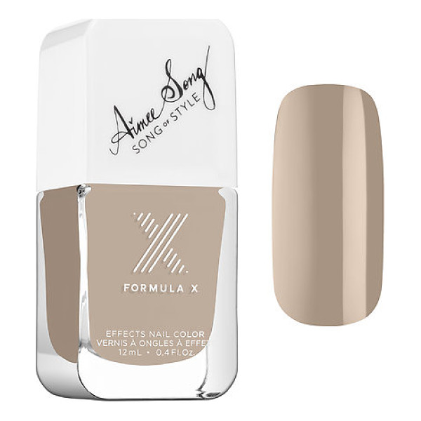 FORMULA X #colorcurators: song of style edition - nail polish nude for you - A limited-edition collection of Formula X nail polish...
