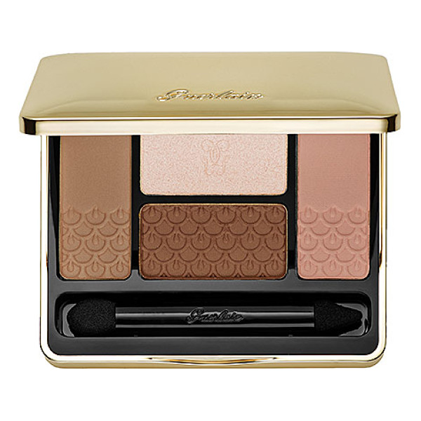 GUERLAIN 4 color eyeshadow palette 15 les sables - An eye shadow palette collection with four shades that can...