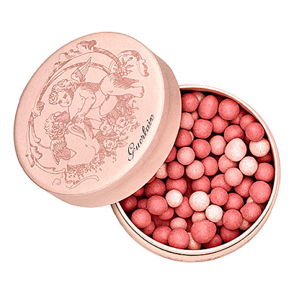 GUERLAIN meteorites perles de blush - A hybrid blush with three kinds of pearls that create an...