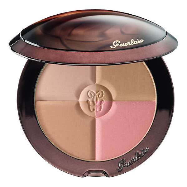 GUERLAIN terracotta 4 seasons contour and bronzing powder 00 nude 0.35 oz/ 10 g - A versatile palette with four buildable, matte shades for...