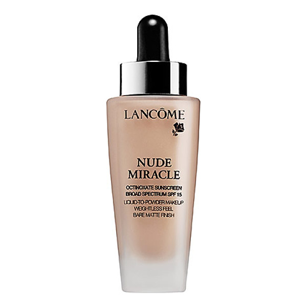 LANCOME nude miracle 220 buff (c) - An ultra-lightweight, liquid-to-powder formula foundation...